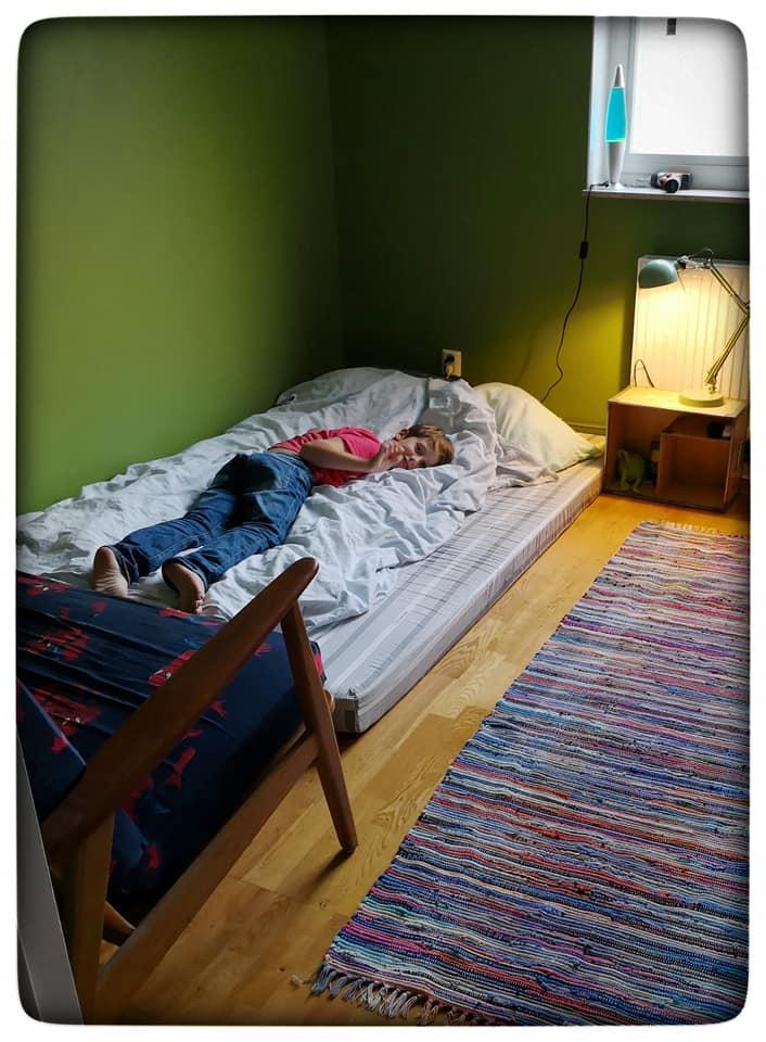 Hur skulle rummet se ut hudfargat